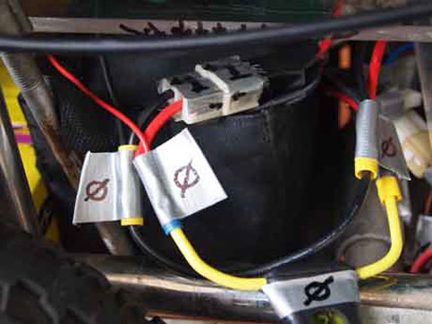 Special wiring Nancy wheelchair