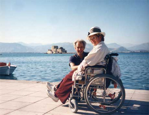 Nafpilon Harbor,  Greece - Disabled Traveler in Paradise