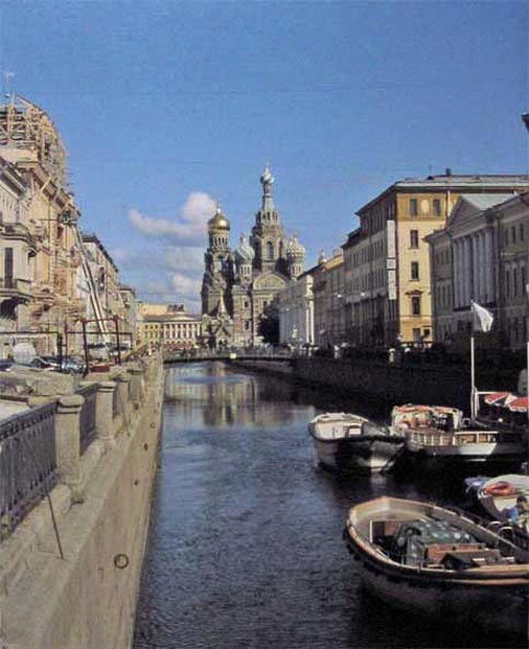 Travel to St Petersburg Russia and see this fanatastic river view