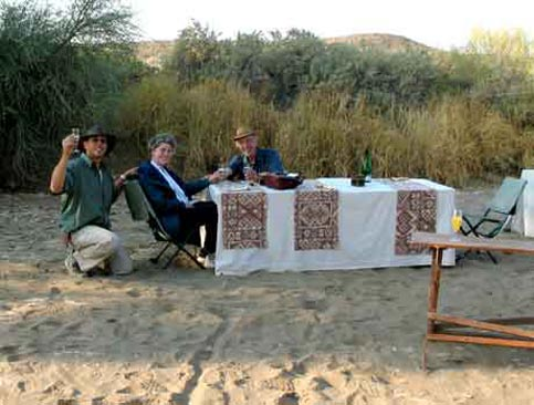 Travel Namibia - Disabled Travelers Guide - Breakfast