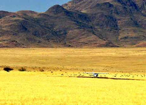 Travel Namibia - Disabled Travelers Guide - Plane