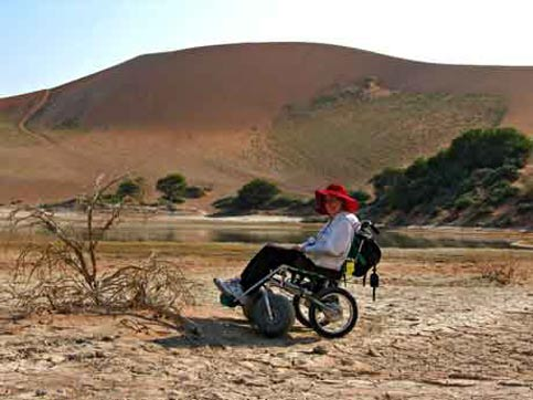 Travel Namibia - Disabled Travelers Guide - Water