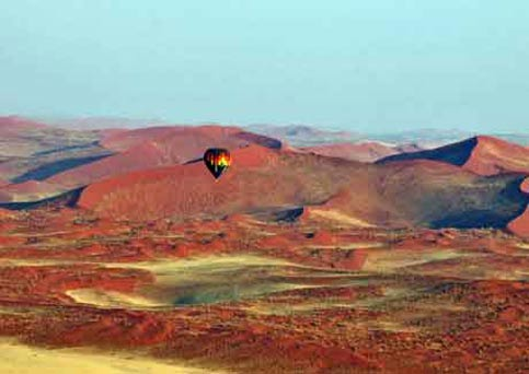 Travel Namibia - Disabled Travelers Guide - Balloon