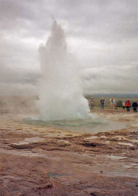 Today a Geyser in Iceland, tomorrow this disabled travelers heading for the moon