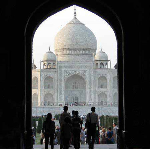 One of the most beautiful sites in the world any traveler can see is the Taj Mahal in India