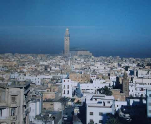 In wheelchair, Nancy and Nate Berger travel to Casablanca Morocco