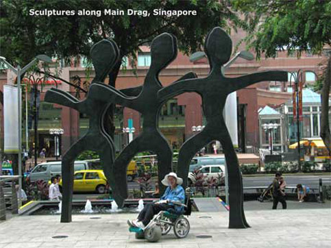 Statues in Singapore