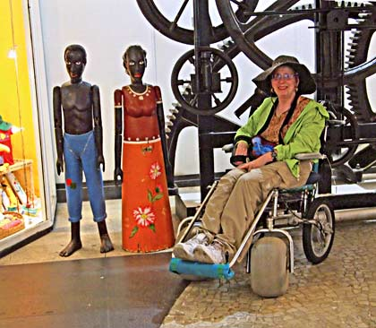 travel disabled wheelchair rio brazil gear house