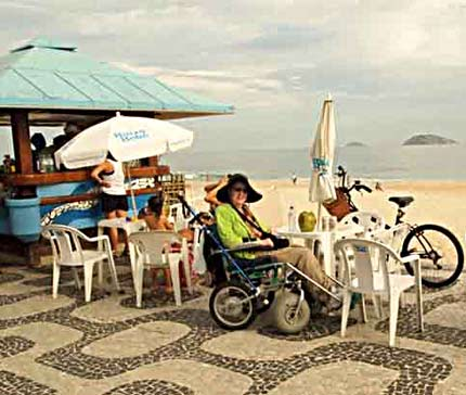 travel disabled wheelchair nan coconut beach