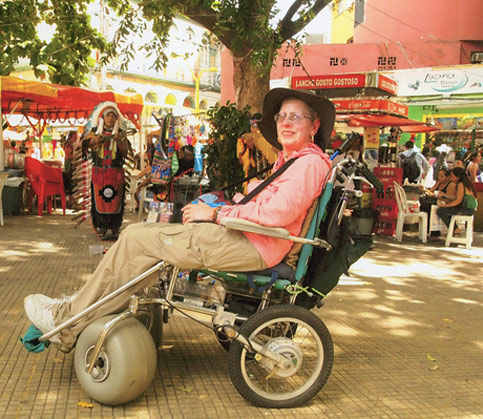 wheelchair travel disabled nancy nate manaus brazil with indian