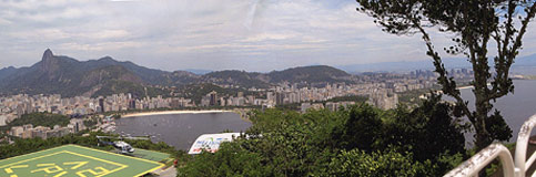 travel disabled wheelchair nancy nate brazil rio from sugarloaf
