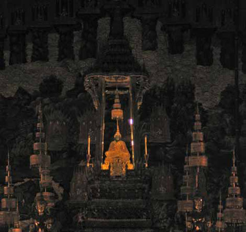 nancy and nate berger travel in wheelchair to see emerald buddha