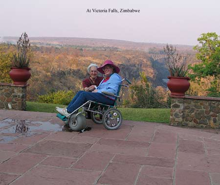 disabled travel wheelchair zimbabwe victoria falls